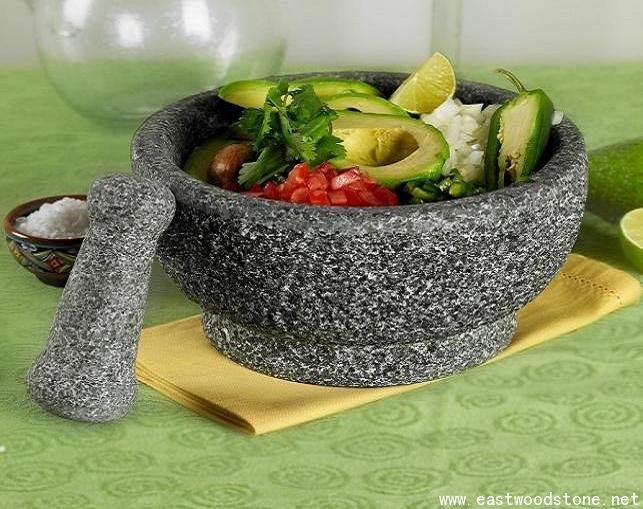Classic and traditional mortar and pestle