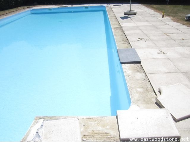 swimming pool copings