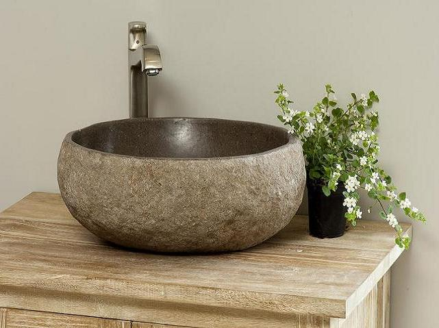 Natural and exquisite stone sink