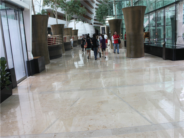 Popular jura beige marble stone for project