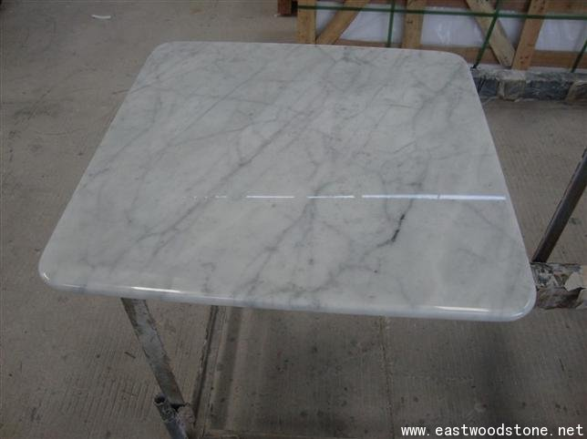 White color table top